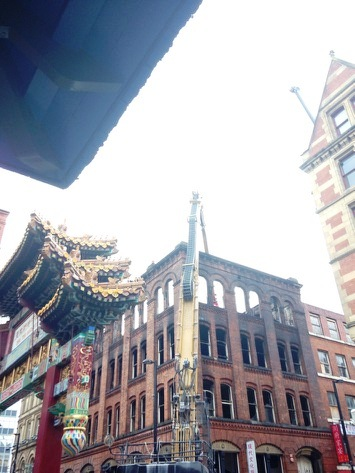 Chinatown Fire....